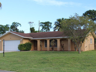 Just Listed, Lake Worth - Florida Gardens 3/2/2 Single Family Home