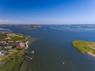 Stuart Wide Waterfront- minutes to the inlet The Reef, 4 BR, 4.5 BA
