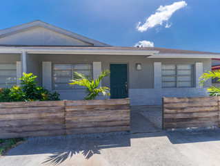 Just Listed, Lake Park, Fully Renovated 2 BR, 2 BA Half Duplex