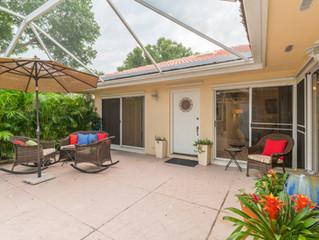 Just Listed, Palm Beach Gardens - Sun Terrace 2 BR, 2 BA Patio Home