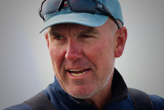 """Andrew """"Dog"""" Palfrey - coach and professional sailor"""