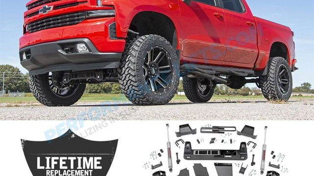 Rough Country Lift kits for (Jeeps, Trucks, and other 4x4s)