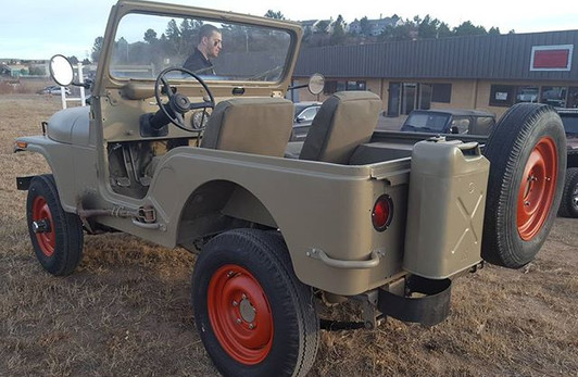 All done with the Israeli military jeep.