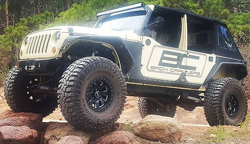 Bach Crawlers JK1 loves the trektop glid