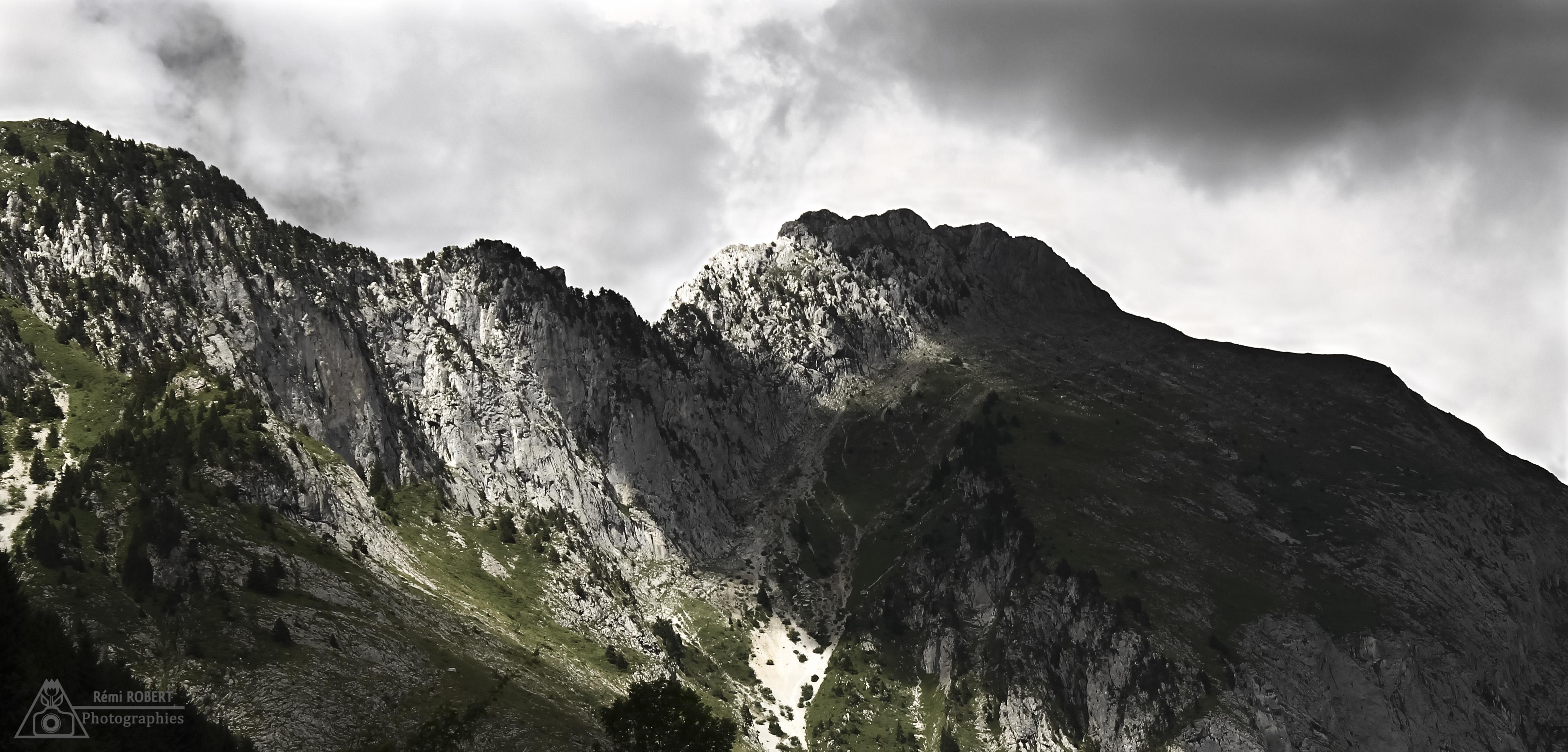 Une partie du Mont Chauffé