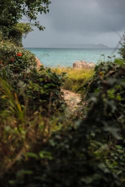 Arrivée sur la côte de granit rose