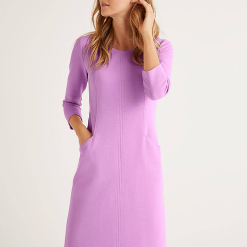 How to wear spring's purples and blues