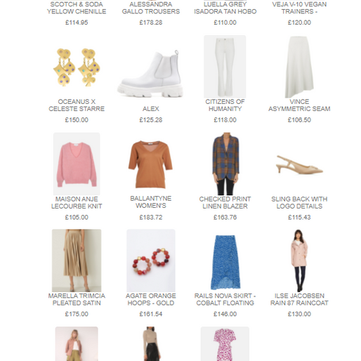 Great basics for Spring as the world opens up again