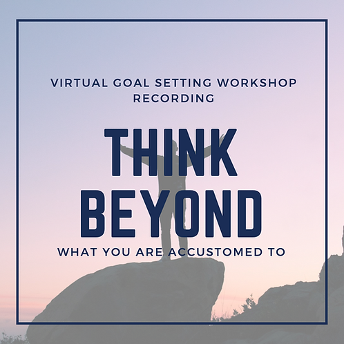 Goal Setting Workshop - Recording