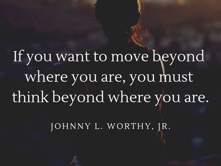 Go Beyond the Here and Now!