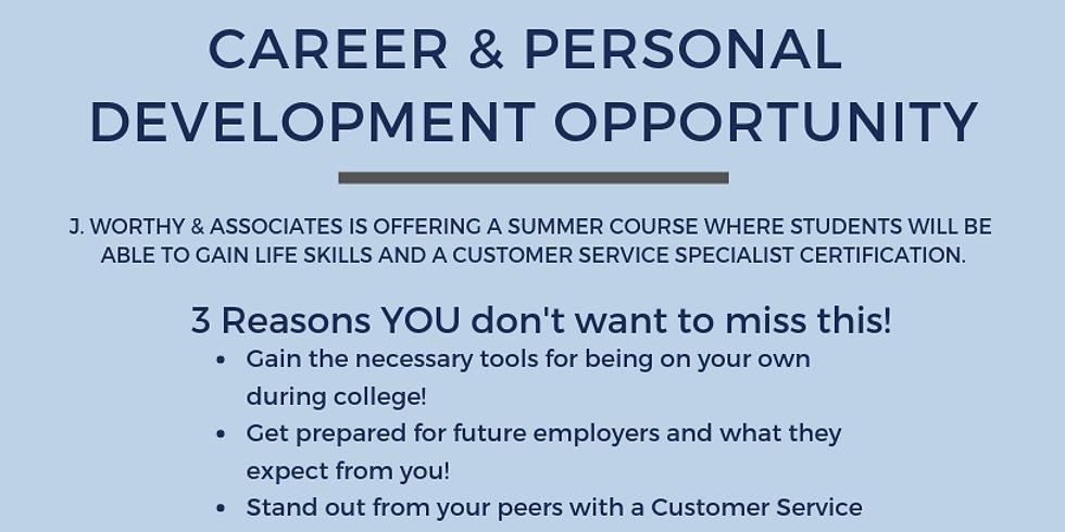 Life Skills + Customer Service Specialist Course