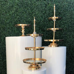 Gold Tiered Cupcake Stand