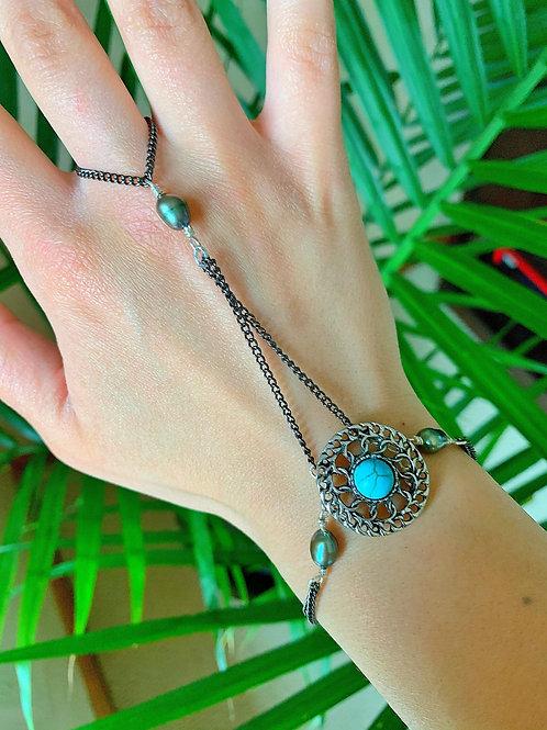 Turquoise Beach Hand Chain