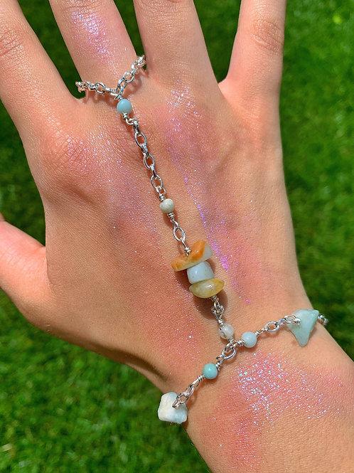 Amazonite Hand Chain