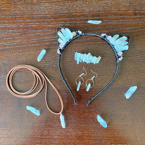 Angel Crystal Jewelry Set