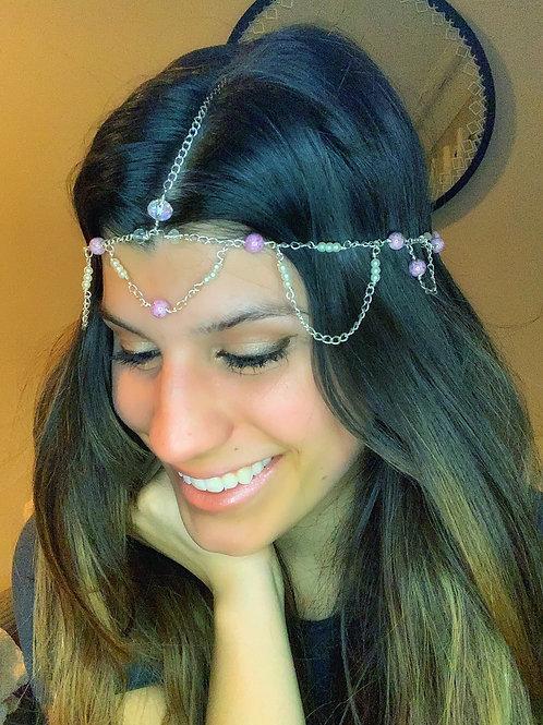 Lavender Princess Head Chain