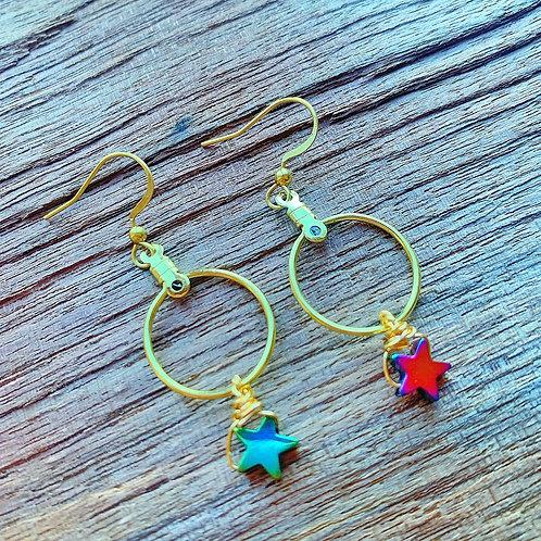 Stardust Drop Earrings
