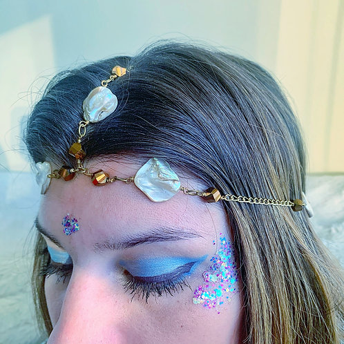 Mermaid Shell Headpiece