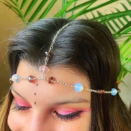 Opalite Goddess Headpiece