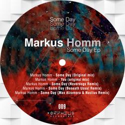 Markus Homm - Some days (Beneath usual remix)