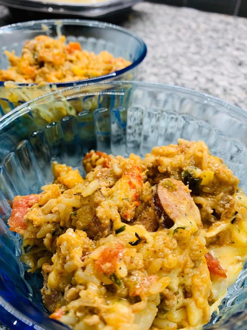 Cajun Rice Bowls