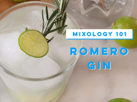 "Cocktail: ""Romero Gin"""