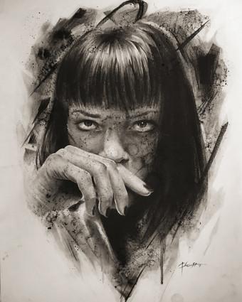 Mrs Mia Wallace (Pulp Fiction)