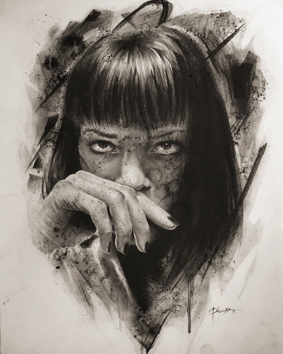 Mrs Mia Wallace (Pulp Fiction)