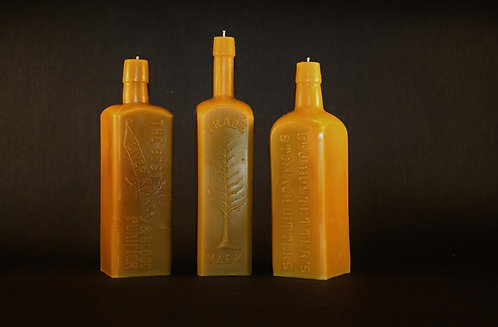VINTAGE BITTERS BOTTLE TRIO