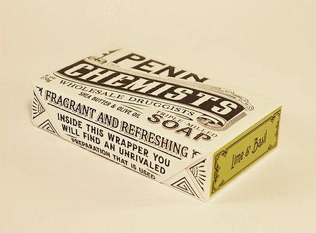 LIME & BASIL 6 oz Bar Soap