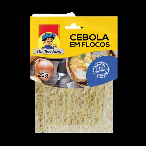 Cebola em Flocos 25g