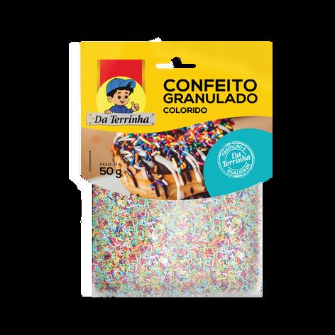 Confeito Granulado Colorido 50g
