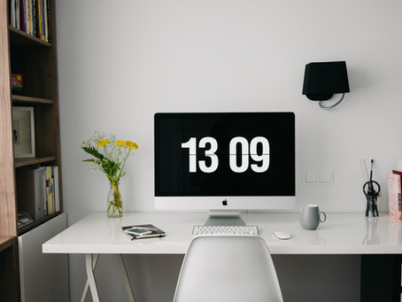 The Gift of Time and the New Home/Office/Classroom/Church/Gym/Etc.