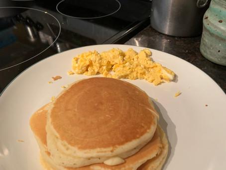 COVID-19 Quarantine and Pancakes