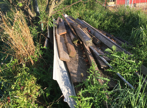 Reflections on a burn pile, New Victory Cheese Box, Farm & Market Offerings