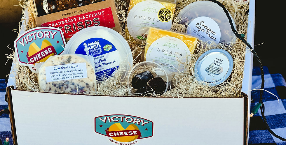 Victory Cheese for the Holidays