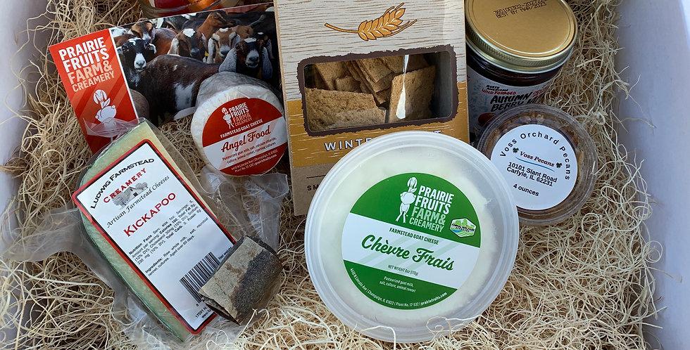 """Prairie Rivers Network Fundraiser """"Local Grazing Dinner Kit"""""""