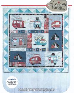 Caravan Quilt - Claire Turpin Design