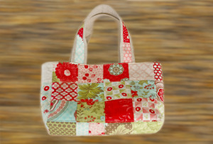 Mini Charm Square Bag