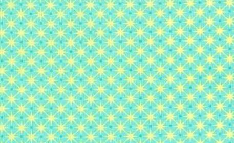 Chirpy Lola Stars Aqua/Yellow