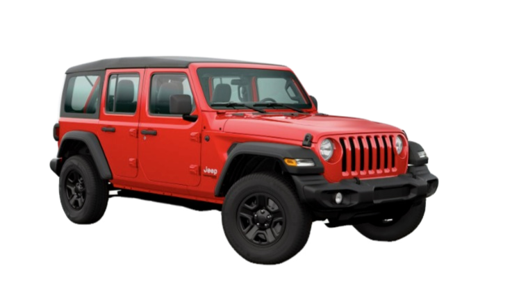 JEEP WRANGLER CONVERTIBLE FOR RENT