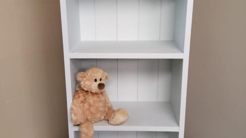 Light Blue Childs Bookcase