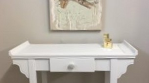 Unusual Shaped Console Table