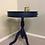 Thumbnail: Dark Blue 3 Drawer Lamp Table