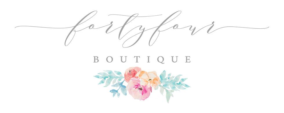 Forty-Four Boutique Logo