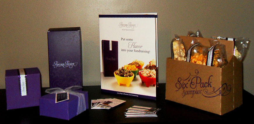 Popcorn Passion Branded Collateral