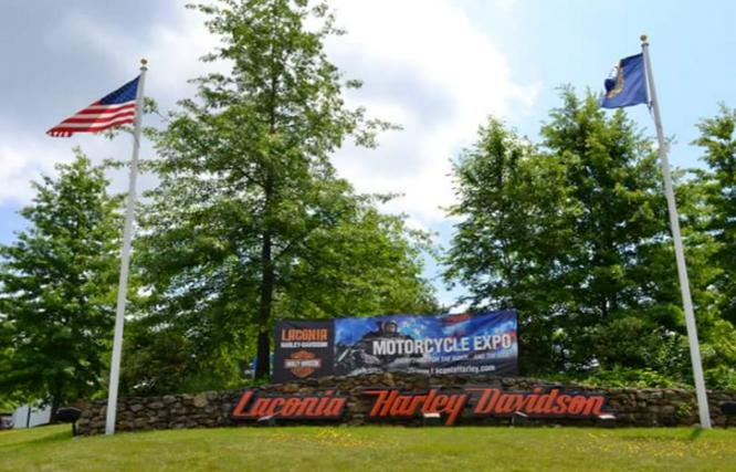 Harley-Davidson Site Signage