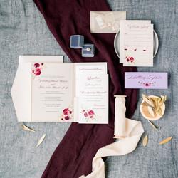 Pocket Folder Wedding Invitation
