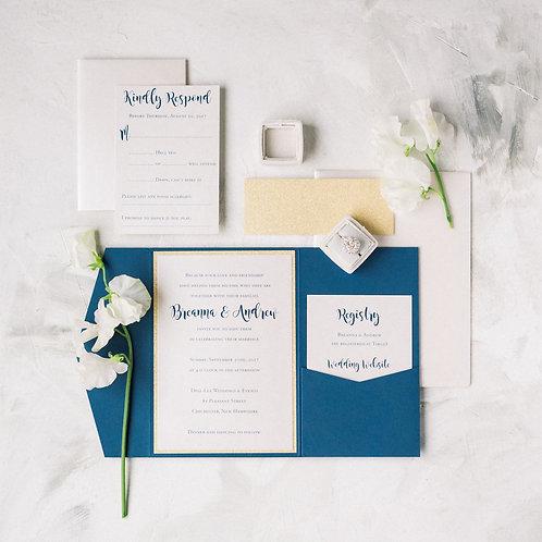 Breanna & Andrew Wedding Invitation