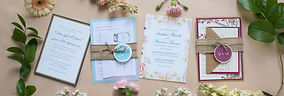 Ashley Elizabeth Designs Wedding Invitations